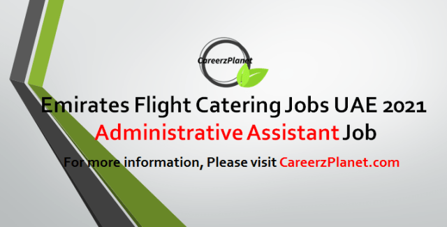 Administration Assistant Jobs in UAE 05 May 2021