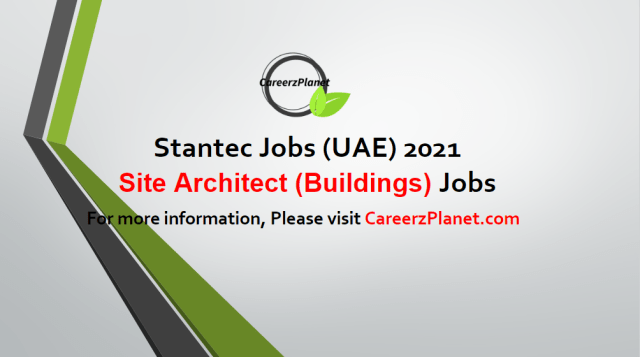 Site Architect (Buildings) Jobs in UAE 04 May 2021