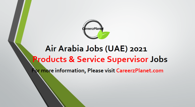 Uniforms Products & Service Delivery Supervisor Jobs in UAE 01 May  2021