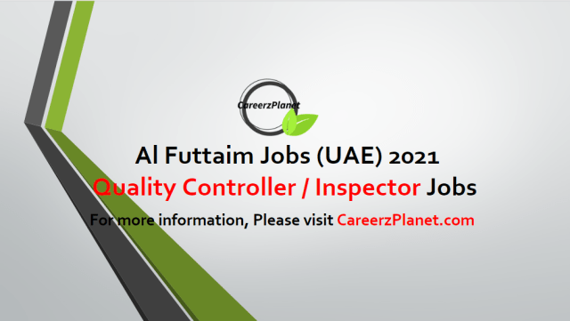 Quality Controller / Inspector   Commercial Vehicle Jobs in UAE 02 May 2021