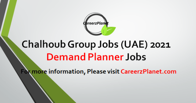 Demand Planner - The Beauty Makers Jobs in UAE 04 May 2021