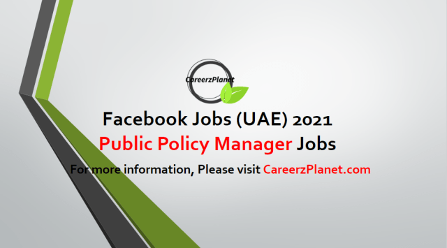 Public Policy Manager, Connectivity & Access in UAE 02 May 2021