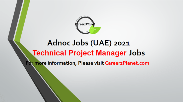 Technical Project Manager Jobs in UAE 04 May 2021