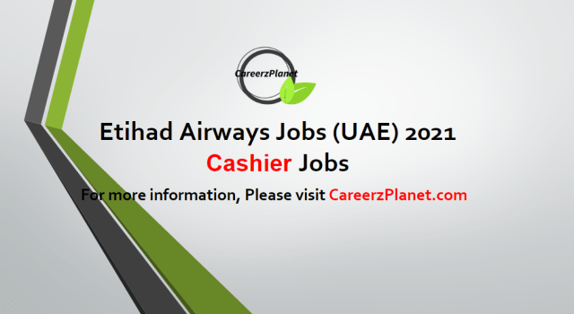 Cashier Jobs in UAE 04 May 2021