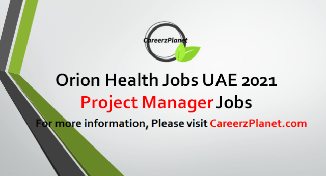 Project Manager Jobs in UAE 12 May 2021