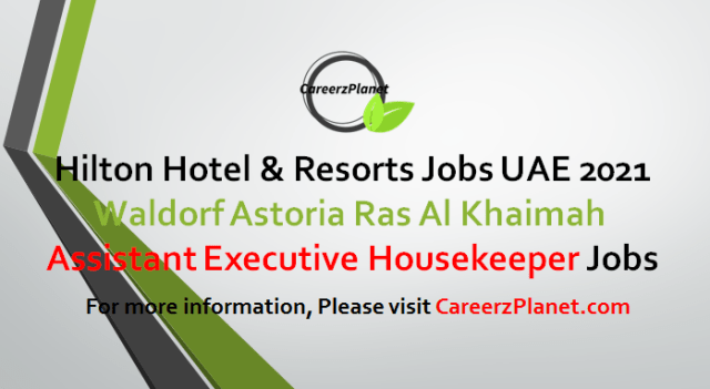 Assistant Executive Housekeeper Jobs 12 May 2021