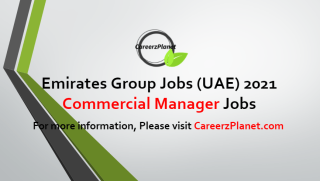 Commercial Manager Jobs in UAE 29 Jun 2021
