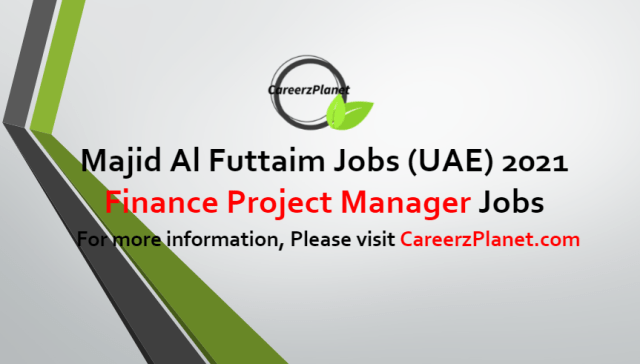 Finance Project Manager Jobs in UAE 24 Jun 2021