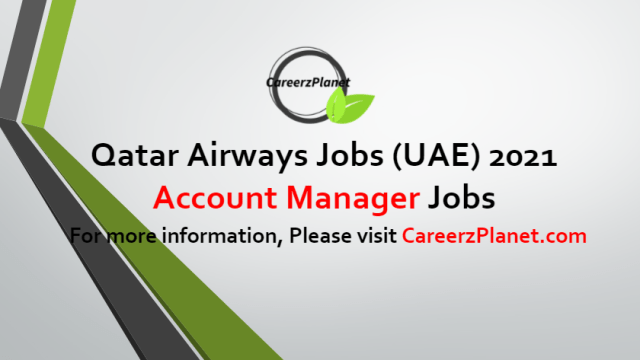 Account Manager Jobs in UAE 24 Jun 2021