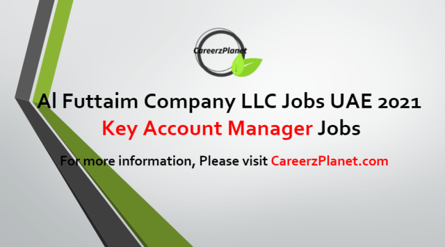 Key Account Manager Jobs in UAE 18 Jul 2021