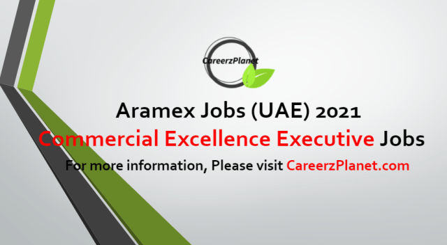 Commercial Excellence Executive  Jobs in UAE 04 Jul 2021