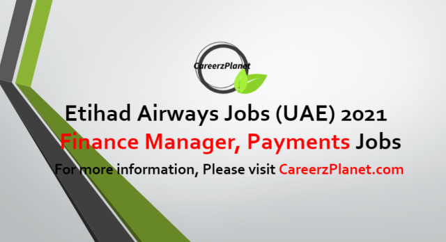 Finance Manager Payments Jobs in UAE 05 Jul 2021