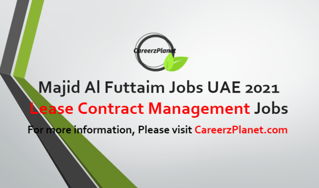 Lease Contract Management Executive Jobs in UAE 23 Aug 2021