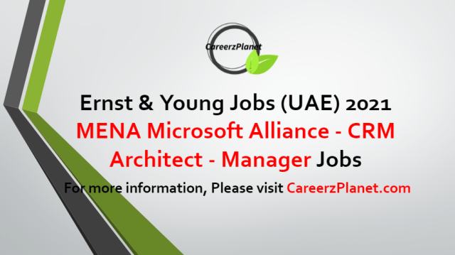 CRM Architect - Manager Jobs in UAE 19 Aug 2021