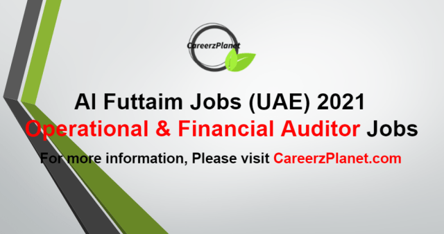 Operational & Financial Auditor Jobs in UAE 22 Aug 2021