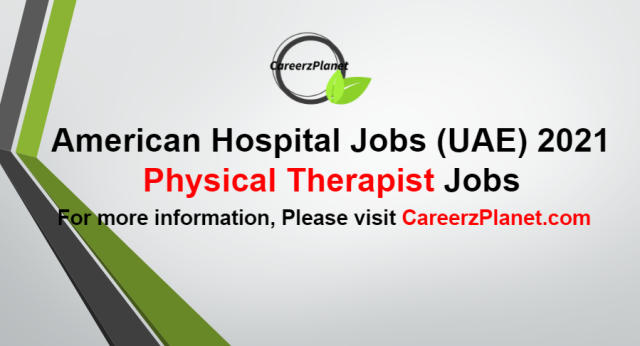 Physical Therapist Jobs in UAE 26 Aug 2021