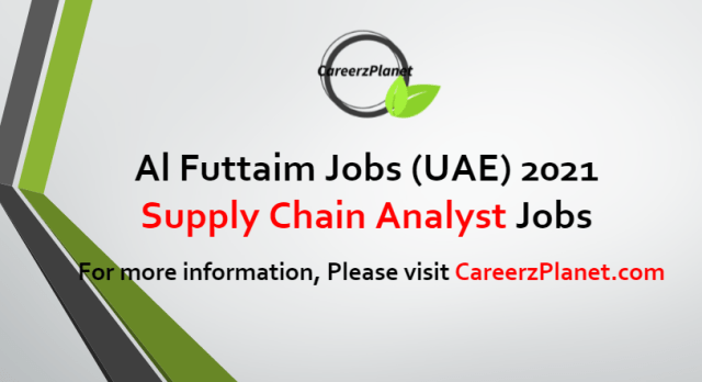 Supply Chain AnalystJobs in UAE 19 Aug 2021