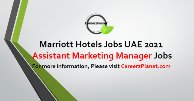 Assistant Marketing Manager Jobs in UAE 13 Sep 2021