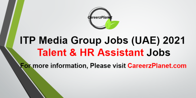 Talent & HR Assistant Jobs in UAE 08 Sep 2021
