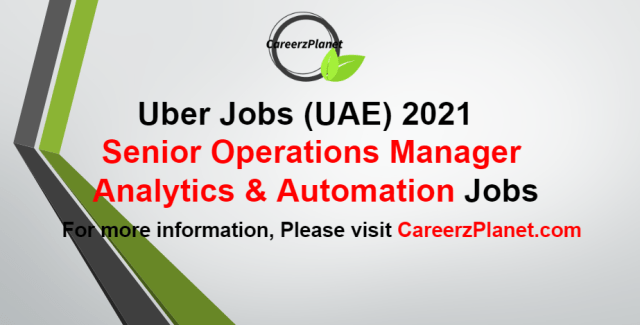 Operations Manager - Analytics & Automation Jobs in 10 Sep 2021
