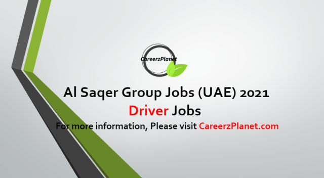 Driver Jobs in UAE 11 Oct 2021