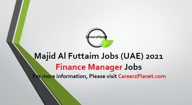Finance Manager Jobs in UAE 13 Oct 2021