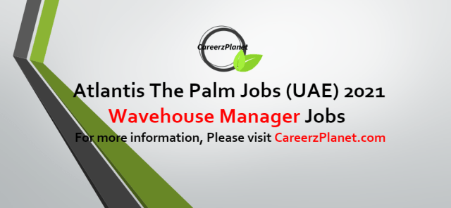 Manager, Wave house  Jobs in UAE 16 Oct 2021