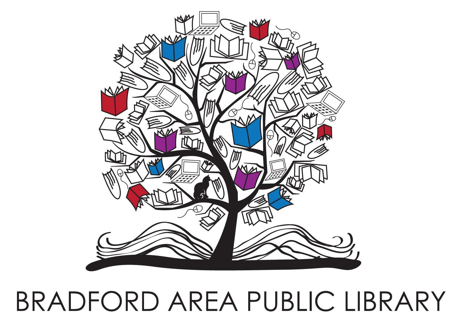 New Library Logo With Words