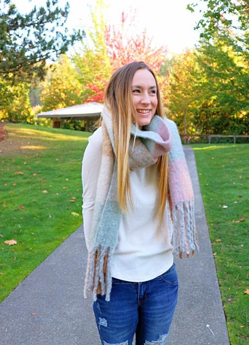 cozy scarves