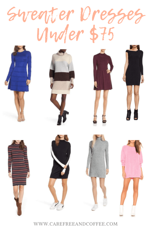 Sweater Dresses Under $75