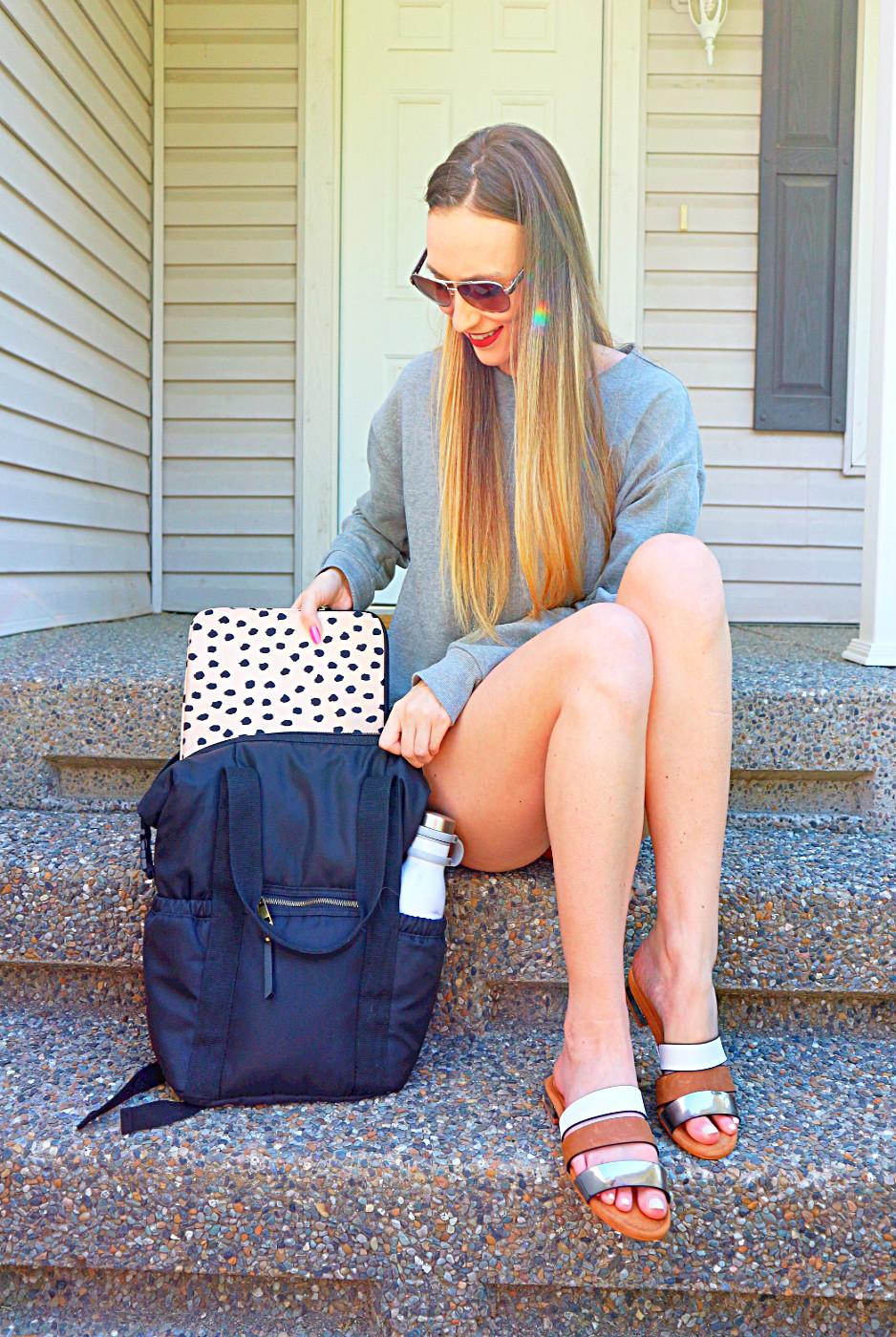 double duty backpack