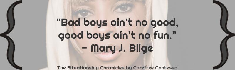 why good girls like bad boys