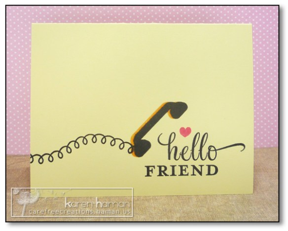 by Karen @ Carefree Creations: Hello
