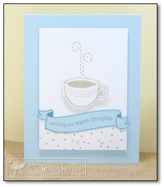 by Karen @ Carefree Creations - Warm Cuppa