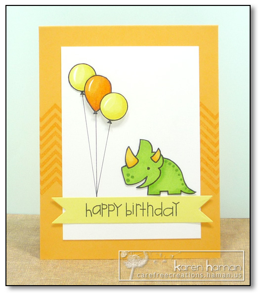 by Karen @ Carefree Creations - Dino Party