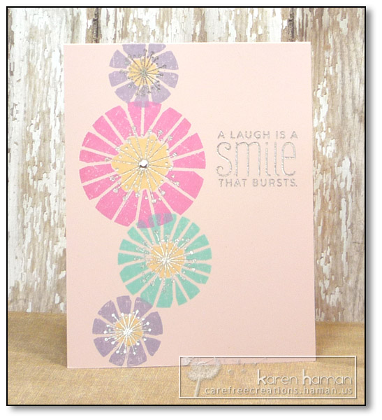 by Karen @ Carefree Creations - Funky Florals