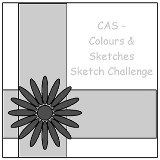 CAS Colours & Sketches - Challenge #29