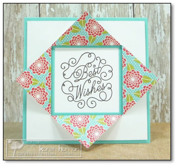 by Karen @ carefree creations - Paper Frame