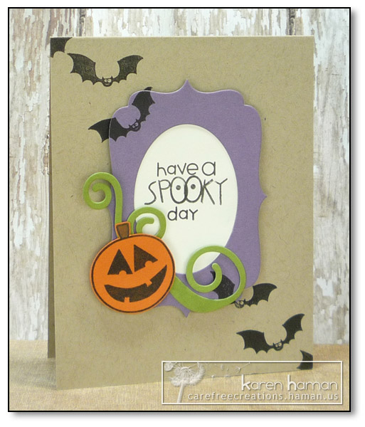 by karen @ carefree creations - Spooky Day