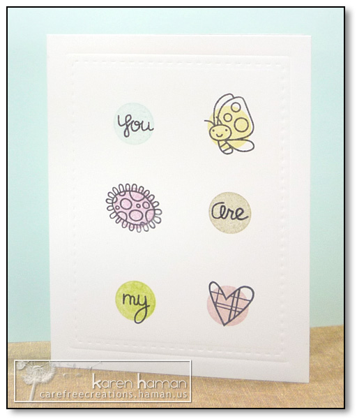 by karen @ carefree creations - You Are My Heart