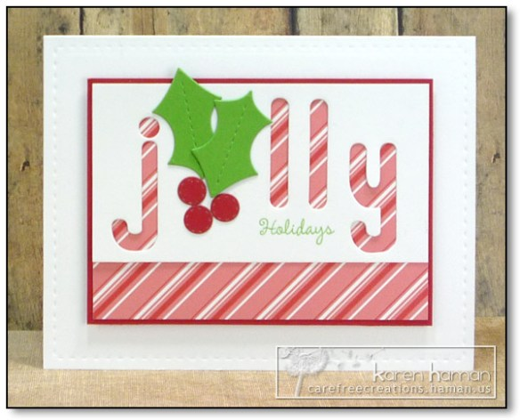 by karen @ carefree creations - Jolly Holiday