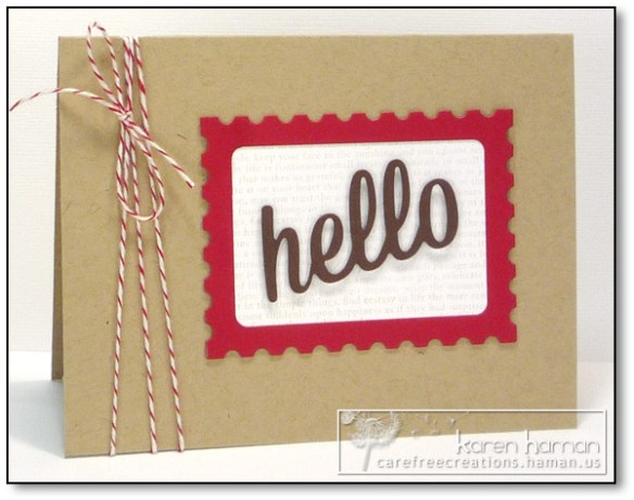 by karen @ carefree creations - Happy Mail