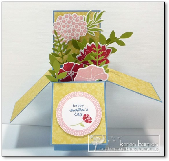 by karen @ carefree creations - Flower Box