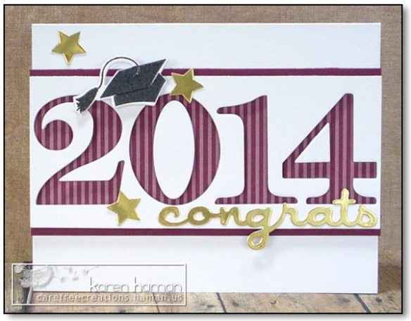 2014 Grad - by karen @ carefree creations