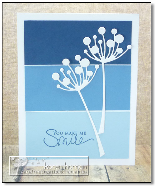 You Make Me Smile - by karen @ carefree creations