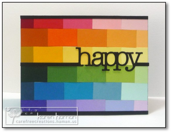 Happy Rainbows - by karen @ carefree creations