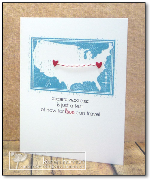 Love Can Travel - by karen @ carefree creations