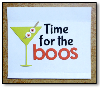 Time for Boos - by karen @ carefree creations