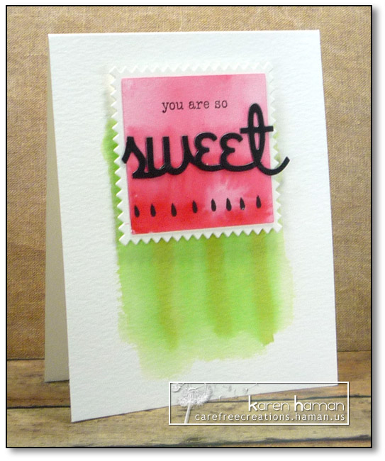 So Sweet | by karen @ carefree creations