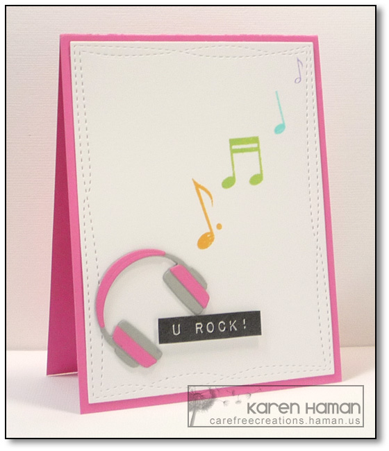 U Rock | by karen @ carefree creations